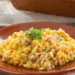 arroz con atún de lata